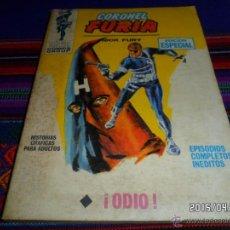 Cómics: VÉRTICE VOL. 1 CORONEL FURIA Nº 4. 25 PTS. 1970. ODIO. REGALO Nº 12. DIFÍCIL. Lote 48901669