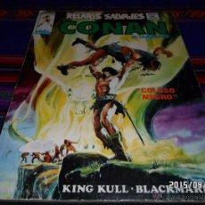 Cómics: VÉRTICE VOL. 1 RELATOS SALVAJES Nº 8 CONAN. 50 PTS. 1975. KING KULL, BLACK MARK. COLOSO NEGRO. BE.. Lote 48901984