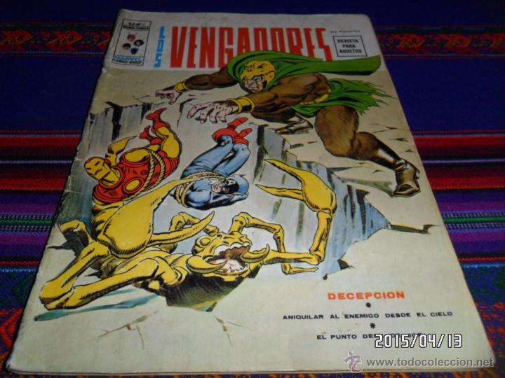 VÉRTICE VOL. 2 LOS VENGADORES Nº 2. 30 PTS. 1974. DECEPCIÓN. REGALO LOS VENGADORES COLOR Nº 50 (Tebeos y Comics - Vértice - Vengadores)