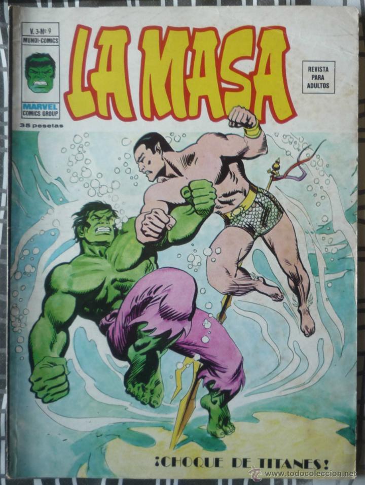 LA MASA V.3 Nº9 (Tebeos y Comics - Vértice - La Masa)
