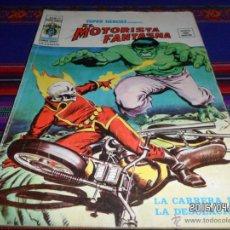 Cómics: VÉRTICE VOL. 2 SUPER HÉROES Nº 19 MOTORISTA FANTASMA LA MASA 35 PTS 1975 LA CARRERA DE LA DESOLACIÓN. Lote 48903143