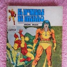 Cómics: EL HOMBRE DE HIERRO 27 EDICIONES VERTICE 1973 RAGA EL HIJO DEL FUEGO VOL 1 25 PESETAS. Lote 48927244