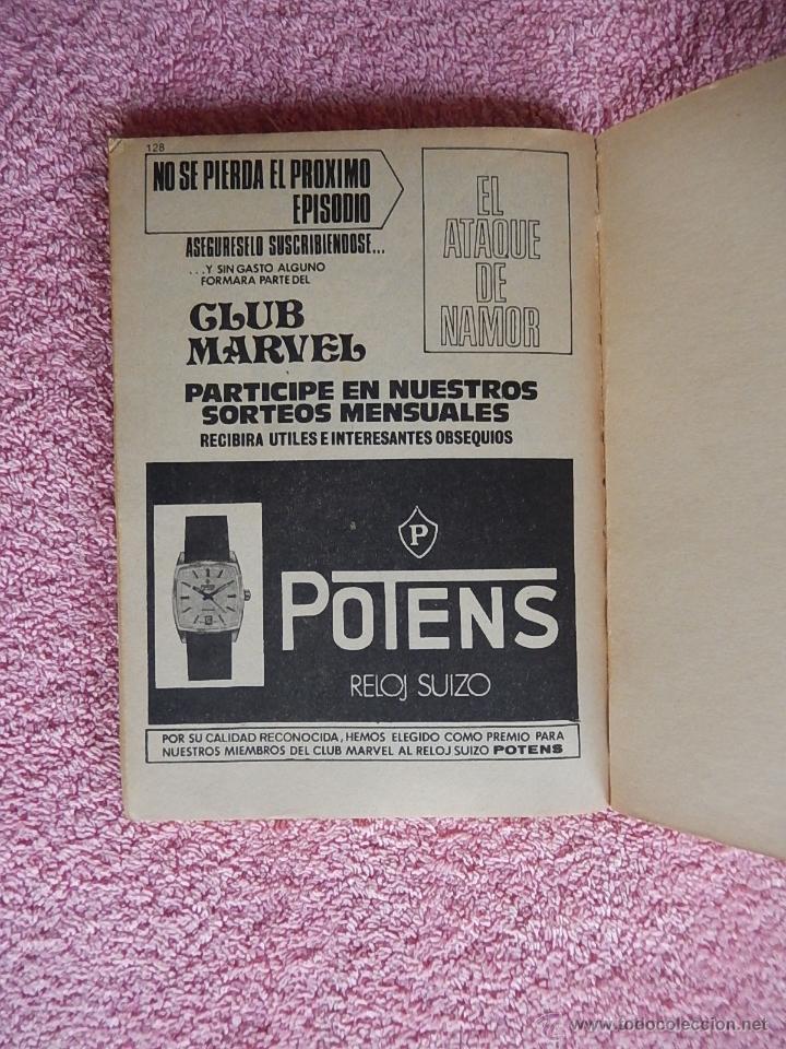 Cómics: el hombre de hierro 27 ediciones vertice 1973 raga el hijo del fuego vol 1 25 pesetas - Foto 5 - 48927244