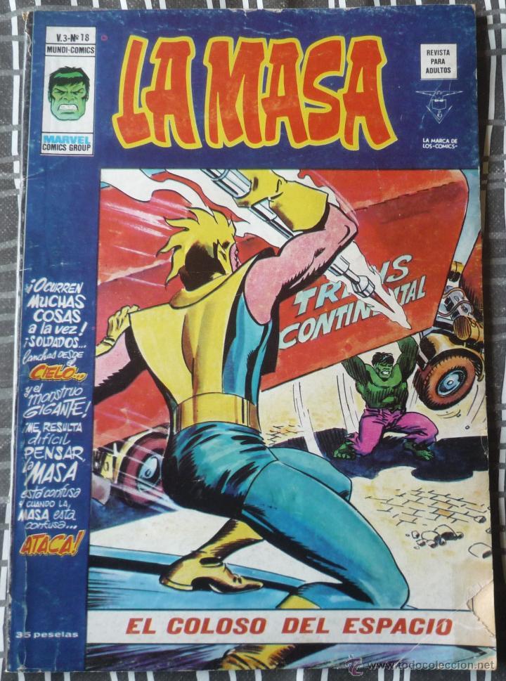 LA MASA V3 Nº 18 (Tebeos y Comics - Vértice - La Masa)