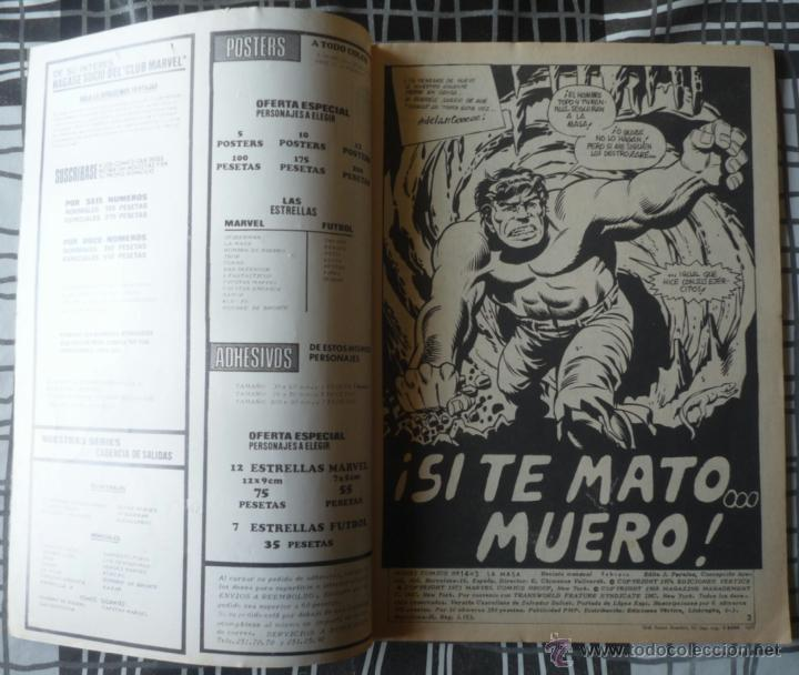 Cómics: LA MASA V.3 Nº 14 - Foto 3 - 30327621