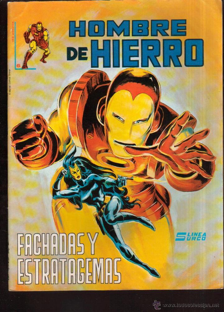 COMIC COLECCIÓN HOMBRE DE HIERRO Nº 6 VER FOTO QUE NO TE FALTE EN TU COLECCION (Tebeos y Comics - Vértice - Surco / Mundi-Comic)