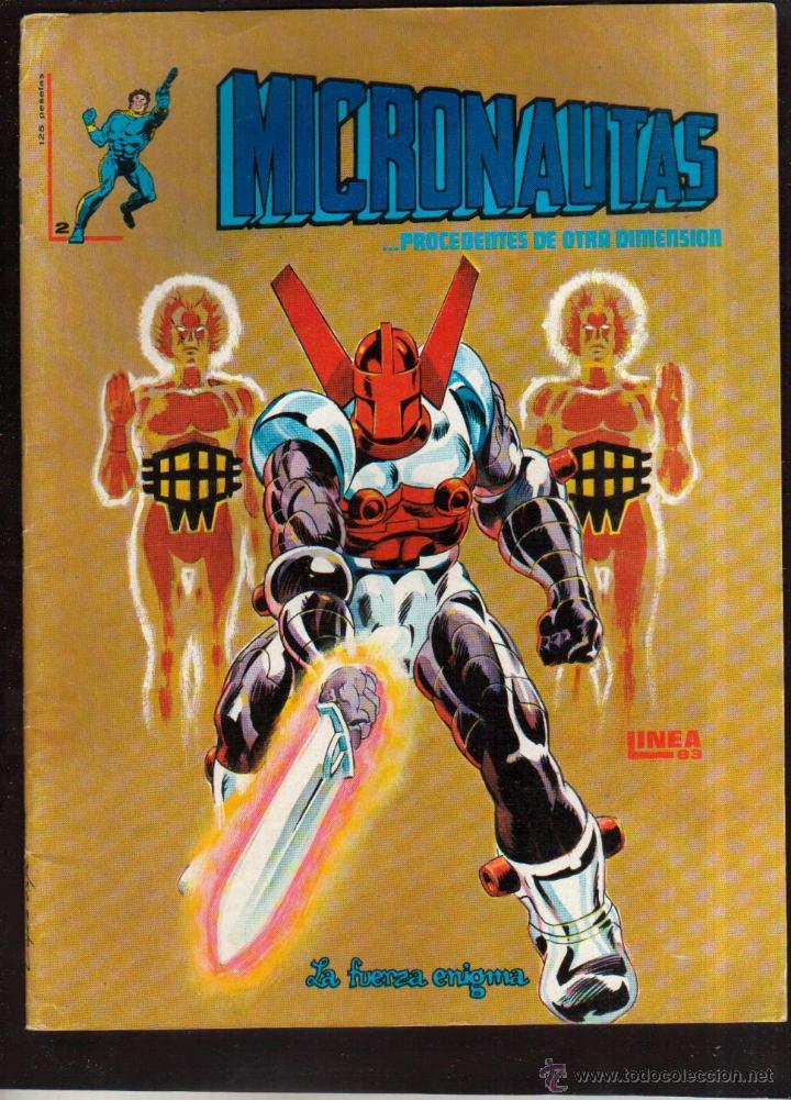 COMIC COLECCIÓN MICRONAUTAS Nº 2 VER FOTO QUE NO TE FALTE EN TU COLECCION (Tebeos y Comics - Vértice - Surco / Mundi-Comic)
