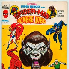 Comics : MUNDI-COMICS - Nº 4 - ESPECIAL SUPER HEROES - SPIDERMAN Y EL HOMBRE LOBO - ED. VERTICE - 1980. Lote 49140136