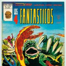 Cómics: MUNDI-COMICS - LOS 4 FANTÁSTICOS - VOL. 3 - Nº 30 - ED. VERTICE - 1980. Lote 49140478