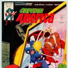 Cómics: MUNDI-COMICS - CAPITÁN AMÉRICA - VOL. 3 - Nº 44 - ED. VERTICE - 1980. Lote 49140954