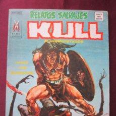 Cómics: RELATOS SALVAJES Nº 13. V.1. KULL EL CONQUISTADOR TEBENI EL VALLE DEL GUSANO DE HOWARD VERTICE. 1975. Lote 49164062