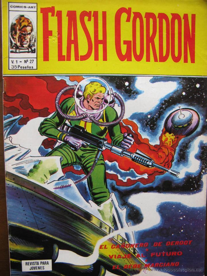 FLASH GORDON. V. 1 - Nº 27. (Tebeos y Comics - Vértice - Flash Gordon)