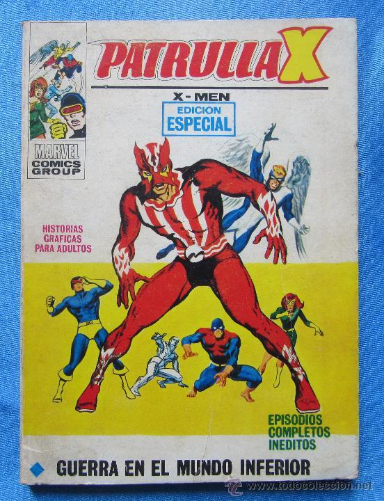 PATRULLA X. X - MEN. GUERRA EN EL MUNDO INFERIOR. EDICIONES VERTICE, 1972. (Tebeos y Comics - Vértice - Patrulla X)