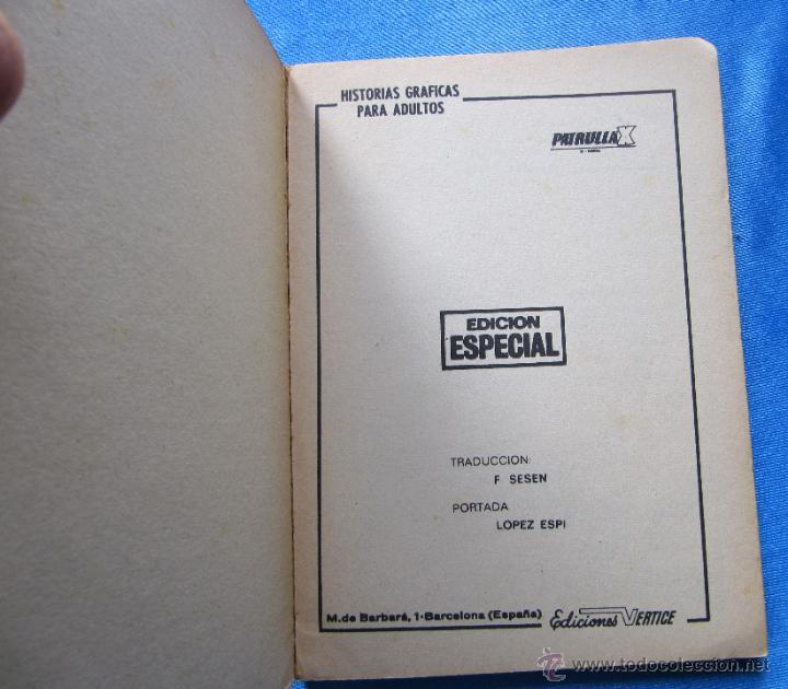 Cómics: PATRULLA X. X - MEN. GUERRA EN EL MUNDO INFERIOR. EDICIONES VERTICE, 1972. - Foto 2 - 49215787