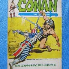 Cómics: CONAN. THE BARBARIAN. LOS DIOSES DE BAL SAGOTH. EDICIONES VERTICE, 1973.. Lote 49215940
