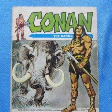 Cómics: CONAN. THE BARBARIAN. EL JARDIN DEL MIEDO. EDICIONES VERTICE, 1973.. Lote 49216161