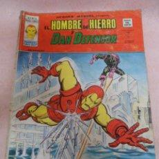 Cómics: EL HOMBRE DE HIERRO Y DAN DEFENSOR V 2 Nº 33 COMIC AÑOS 70. Lote 49219466