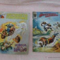 Cómics: EL MOTORISTA FANTASMA Nº 6 Y Nº 86 LOTE DE 2 COMICS SURCO Y VERTICE. Lote 49220649