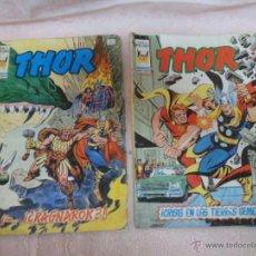 Cómics: THOR V2 Nº 41, V2 Nº 42 LOTE DE 2 COMICS MUNDI COMICS VERTICE. Lote 49220893