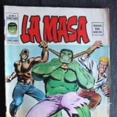 Cómics: LA MASA Nº 5 VOLUMEN 2 EDITORIAL VERTICE. Lote 49259977