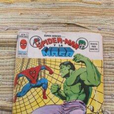 Cómics: SUPER HEROES SPIDERMAN Y LA MASA Nº 13 VOL 2 V 2 MUNDI COMICS VERTICE. Lote 49356801