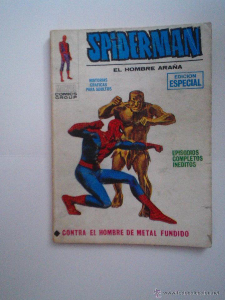 SPIDERMAN - VERTICE - VOLUMEN 1 - NUMERO 11- 25 PESETAS - CJ 73 - GORBAUD (Tebeos y Comics - Vértice - V.1)