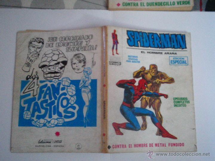 Cómics: SPIDERMAN - VERTICE - VOLUMEN 1 - NUMERO 11- 25 PESETAS - CJ 73 - GORBAUD - Foto 4 - 49377107