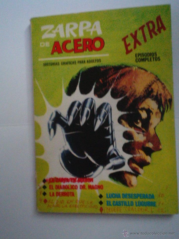 ZARPA DE ACERO EXTRA - NUMERO 3- VOLUMEN 1 - VÉRTICE - 1ª EDICION - CJ 114 - GORBAUD (Tebeos y Comics - Vértice - V.1)