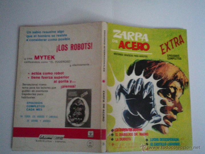 Cómics: ZARPA DE ACERO EXTRA - NUMERO 3- VOLUMEN 1 - VÉRTICE - 1ª EDICION - CJ 114 - gorbaud - Foto 9 - 49377638