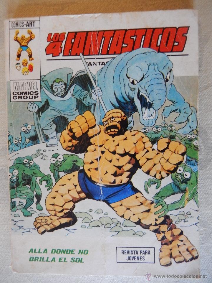 LOS 4 FANTASTICOS Nº63, ALLA DONDE NO BRILLA EL SOL (Tebeos y Comics - Vértice - 4 Fantásticos)