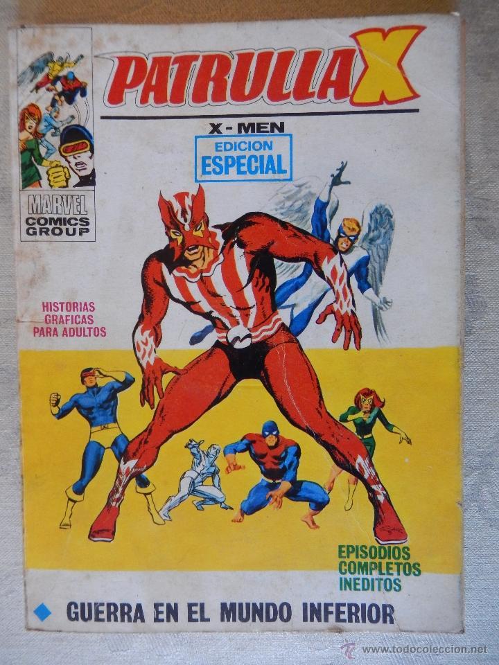 PATRULLA X Nº29, GUERRA EN EL MUNDO INFERIOR (Comics und Tebeos - Vértice - Patrulla X)