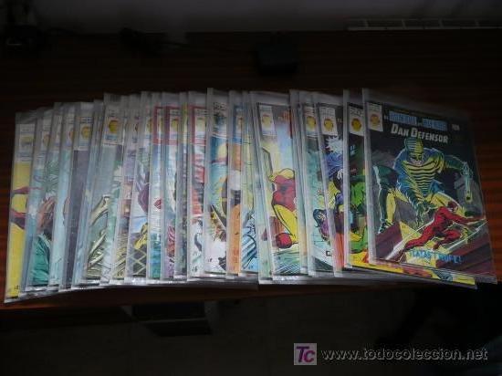 COLECCION HEROES MARVEL Y SUPER HEROES EDITORIAL VERTICE VOLUMEN 2 (25 EJEMPLARES) (Tebeos y Comics - Vértice - Dan Defensor)