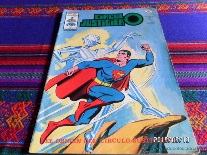 VÉRTICE MUNDI COMICS VOL. 1 CÍRCULO JUSTICIERO Nº 1. 40 PTS. 1978. EL ORIGEN. (Tebeos y Comics - Vértice - Surco / Mundi-Comic)