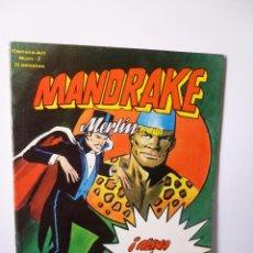 Cómics: MANDRAKE # 2. MERLÍN EL MAGO (VÉRTICE, 1980). Lote 123086803