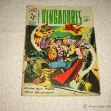 Cómics: LOS VENGADORES V2 , Nº 11 , 35 PESETAS, RARO. Lote 49670270