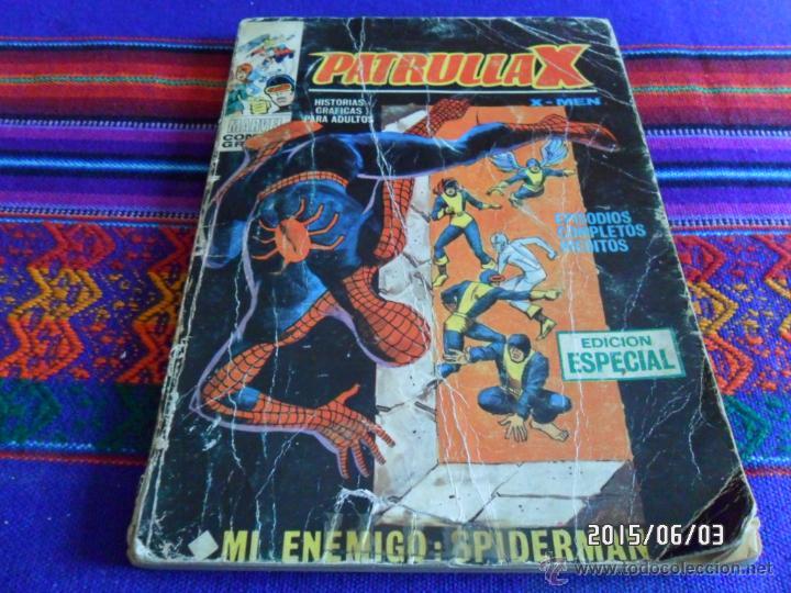 VÉRTICE VOL. 1 PATRULLA X Nº 16 1ª ED. 1970. 25 PTS. MI ENEMIGO SPIDERMAN. (Tebeos y Comics - Vértice - Patrulla X)