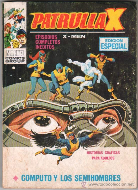 PATRULLA X - V 1, Nº 21 - 128 PGS EDICIONES VERTICE 1972 (Tebeos y Comics - Vértice - Patrulla X)