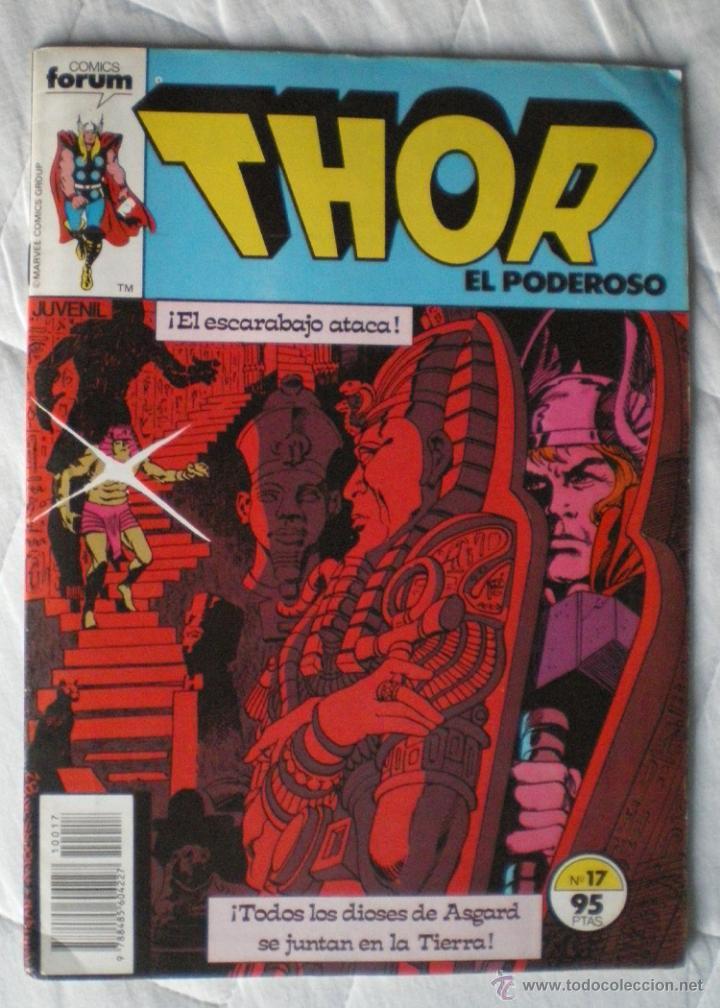 COMICS FORUM MARVEL COMICS GROUP THOR EL PODEROSO Nº 17 1983 NUEVO (Tebeos y Comics - Vértice - Thor)