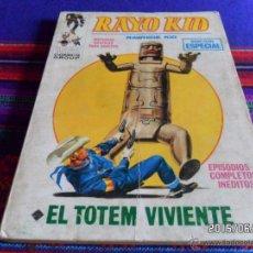 Cómics: VÉRTICE VOL. 1 RAYO KID Nº 10. 25 PTS. EL TOTEM VIVIENTE. BUEN ESTADO Y DIFÍCIL!!!!!. Lote 49827424
