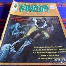 Cómics: VÉRTICE VOL. 2 FANTOM Nº 7 CON DRACULA. 1975. 30 PTS. ÉL ANDA CON UN FANTASMA.. Lote 49828340
