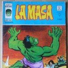 Cómics: LA MASA. V3 Nº 22. EN EXCELENTE ESTADO. Lote 49872175