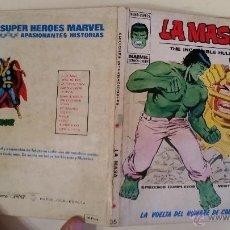 Cómics: COMIC VERTICE MARVEL COMICS TACO LA MASA HULK VOL.1 Nº 35 LA VUELTA DEL HOMBRE DE COBALTO. Lote 49900274