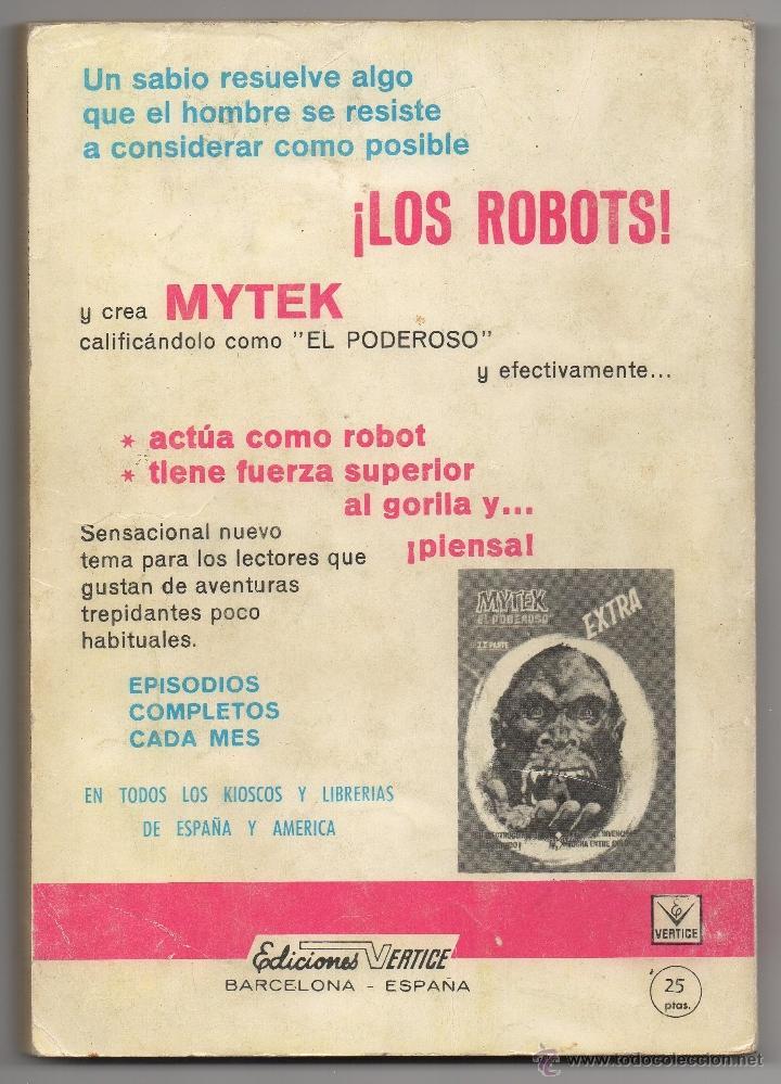 Cómics: ZARPA DE ACERO nº 3 (Vertice 1ª edicion 1966) 160 páginas. - Foto 5 - 50019140