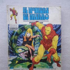 Cómics: HOMBRE DE HIERRO Nº 26 JUEGO DE MUERTE / VERTICE 1973. Lote 50043561