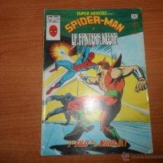 Comics: SUPER HEROES Nº 123 SPIDERMAN Y PANTERA NEGRA EDICIONES VERTICE . Lote 50127643