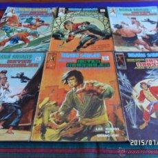 Cómics: VÉRTICE VOL. 1 RELATOS SALVAJES ARTES MARCIALES NºS 10 (2) 11 12. 1975. MUY BUEN ESTADO. RAROS.. Lote 50288451