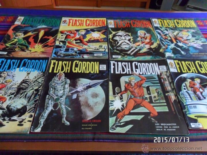 VÉRTICE VOL. 1 FLASH GORDON NºS 1 5. 30 PTS. 1974. MUY BUEN ESTADO. (Tebeos y Comics - Vértice - Flash Gordon)