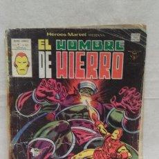Cómics: COMICS - EL HOMBRE DE HIERRO - VOL.2, N° 62 - MUNDI COMICS - EDICIONES VERTICE - AÑO 1975 . Lote 50398668