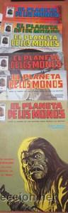 EL PLANETA DE LOS MONOS. 6 NÚMEROS. DONDE EL HOMBRE FUE AMO SUPREMO, AHORA MANDAN LAS BESTIAS - VARI (Tebeos y Comics - Vértice - Surco / Mundi-Comic)