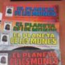 Cómics: EL PLANETA DE LOS MONOS. 6 NÚMEROS. DONDE EL HOMBRE FUE AMO SUPREMO, AHORA MANDAN LAS BESTIAS - VARI. Lote 50411368